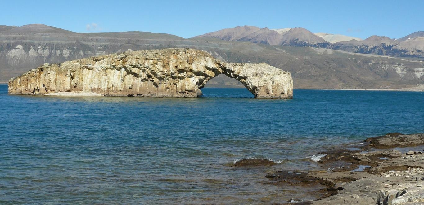 Arco Lago Posadas - Santa Cruz - Argentina