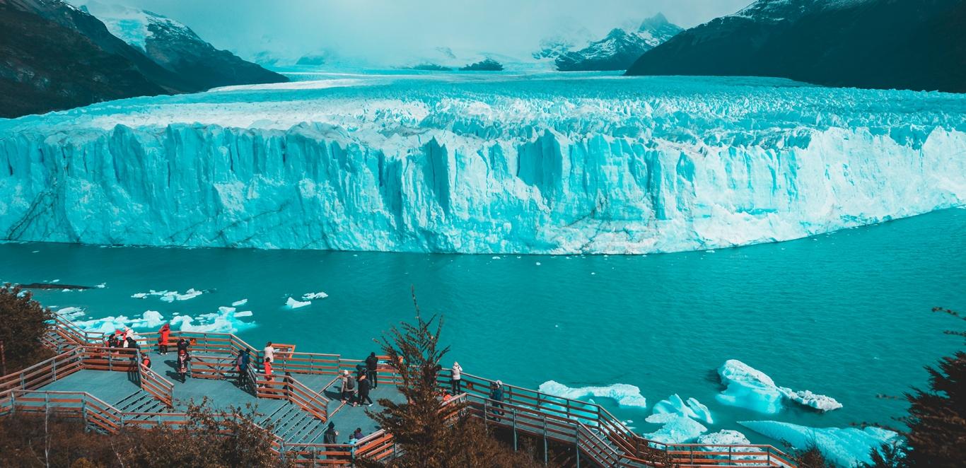 Calafate - Panoramica - Glaciar
