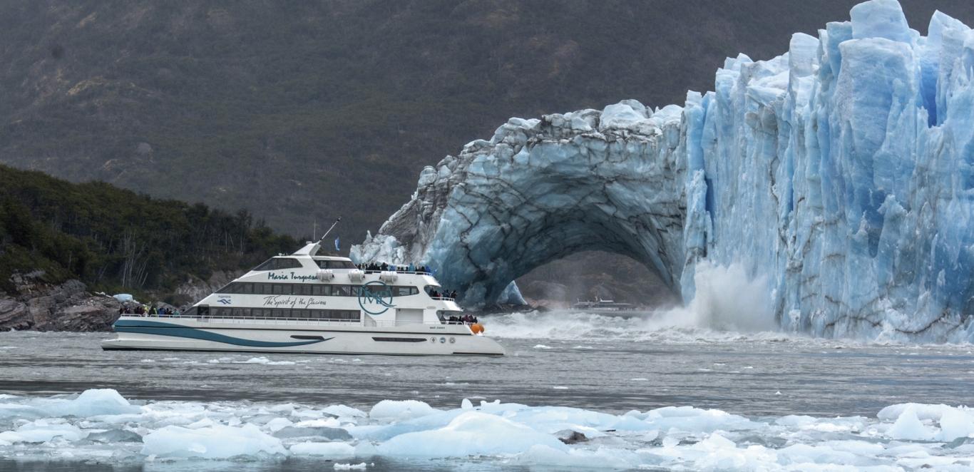 Desprendimiento Glaciar Perito Moreno