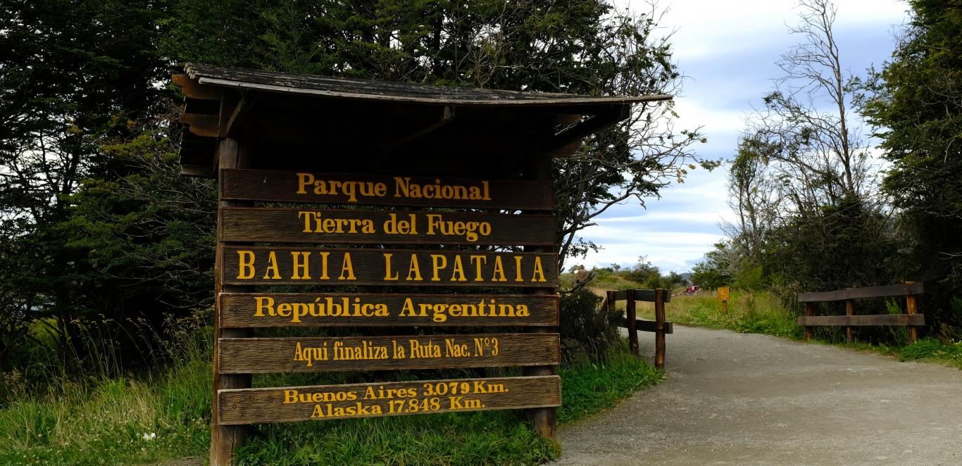 Bahia Lapataia - Parque Nacional Tierra del Fuego